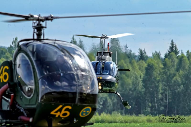 HKP6b - Agusta Bell 206B and Schweizer 269C
