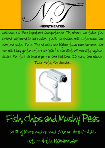 Fish, Chips and Mushy Peas poster