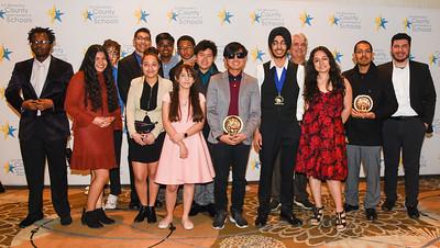20200207 Academic Decathlon Award Candids