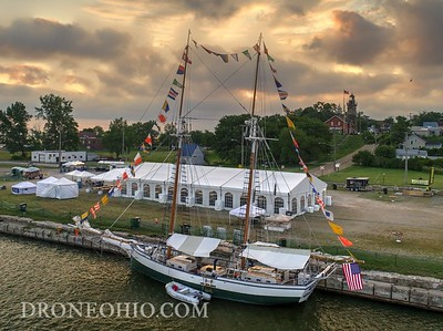 Tall Ships in Fairport Harbor 2017