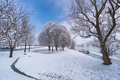 Snowy Kostanjevica - Jan 31, 2021