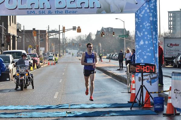5 Mile Finish
