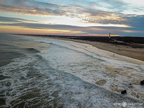 January 30, 2021 Jetty Waves in January, Cape Hatteras