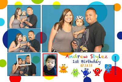 Andrew Stylez 1st Birthday (Multi-Photo Collage)