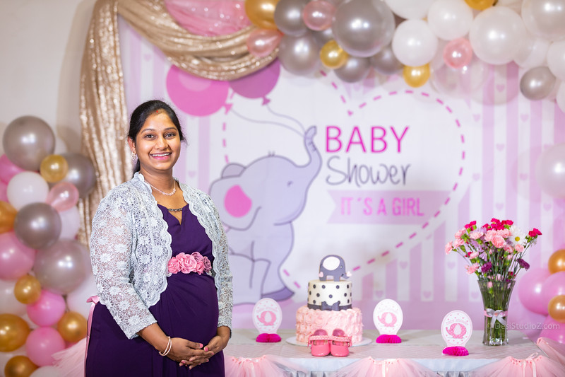 Alekya Western baby Shower