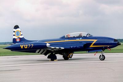Hamilton, London, Ontario, Canada, Pensacola, Jacksonville, Opa-Locka, Florida and Selfridge, Michigan airshows in the early Nineties