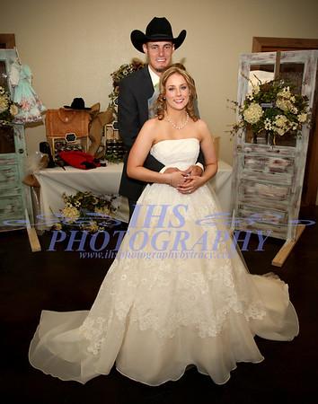 Cvancara Wedding - Bride & Groom
