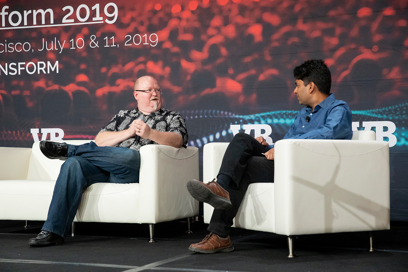 #VBTransform @VentureBeat  Kevin Scott, EVP & CTO, Microsoft  Moderator: Deepak Agarwal, VP of Artificial Intelligence, LinkedIn  Fireside Chat