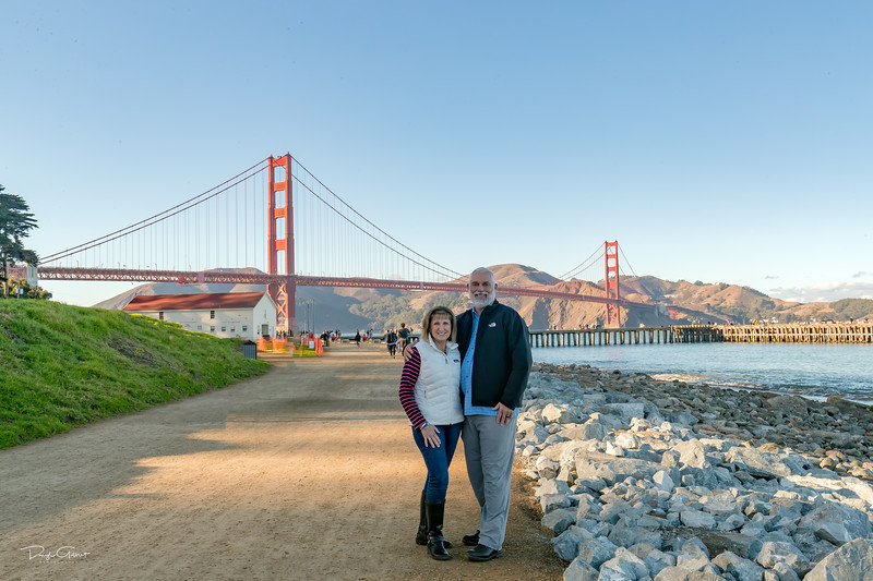 Crissy Field - Golden Gate Bridge