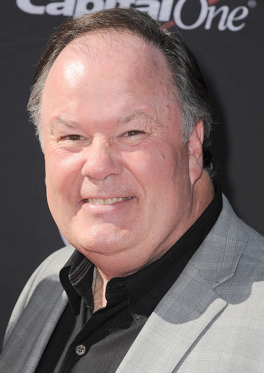 . Actor Dennis Haskins arrives at the ESPY Awards on Wednesday, July 17, 2013, at Nokia Theater in Los Angeles. (Photo by Jordan Strauss/Invision/AP)
