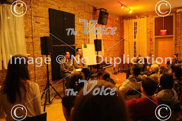 Back Third Audio Open House for Made in Aurora, Volume 2, City of Lights Album in Aurora, IL 12-1-11