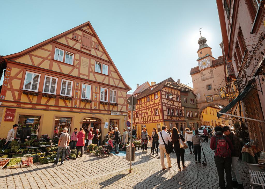 羅騰堡 可愛的中世紀童話小鎮 Rothenburg ob der Tauber by Wilhelm Chang