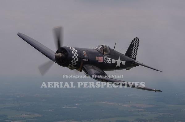2 Ship Warbird shoot - Geneseo 7/10/11 N68JC N56867