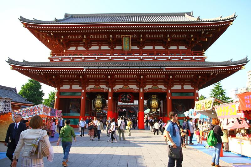 Asakusa Senso-ji Temple. Editorial credit: Yasemin Olgunoz Berber / Shutterstock.com