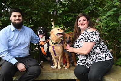 5-30-2021 Cherie Harris, Michael & Dogs @ Grapevine Botanic