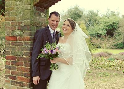Claire&Adam, Haughley Park Barn