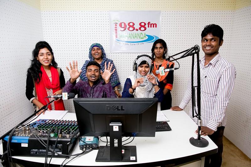 Radio MAHANANDA 98.8 fm; Chapainawabgonj District, Bangladesh.