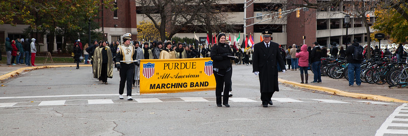 2016 Purdue Senior Day