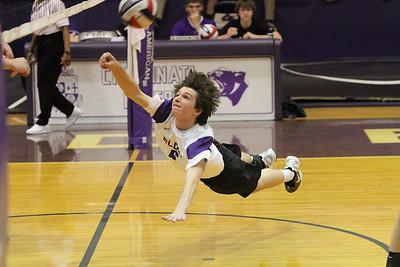 2012 Varsity Volleyball vs Caroll