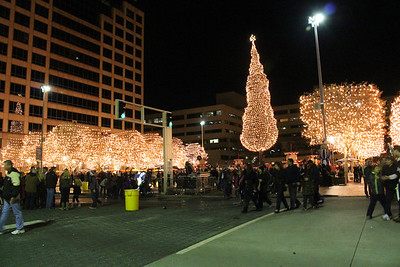 MAYORS CHRISTMAS  TREE 11-28-14