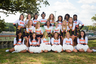 Bonner Springs HS Cheer 2018-19