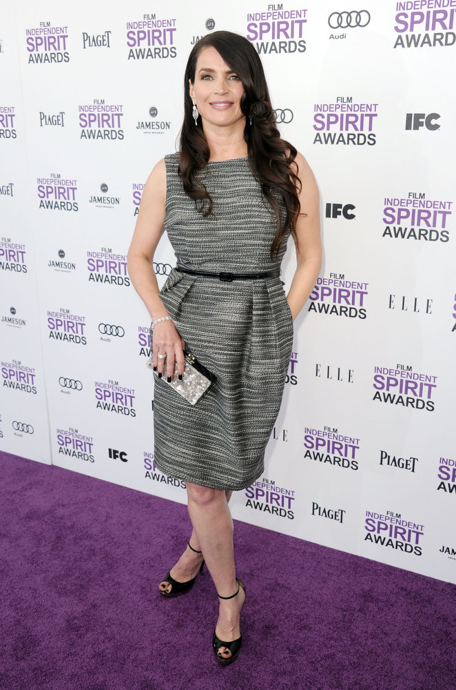 . Actress Julia Ormond arrives at the 2012 Film Independent Spirit Awards on February 25, 2012 in Santa Monica, California.  (Photo by Kevin Winter/Getty Images)