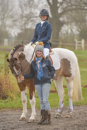 Lincomb Unaffiliated Dressage, 8th January 2017