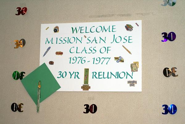 Mission San Jose 30th Class Reunion  8 2007