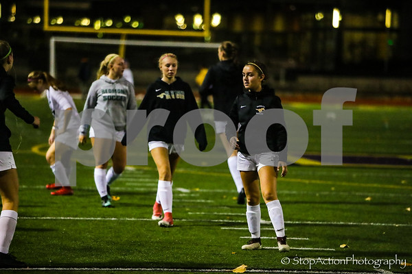 2018-11-01 Issaquah Girls Soccer vs Redmond