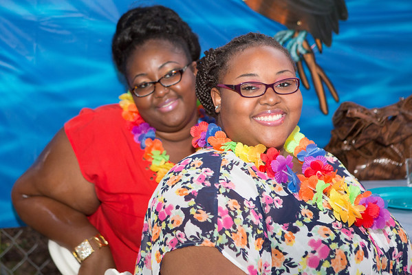 Charlotte Smith 2013 Back to School Luau