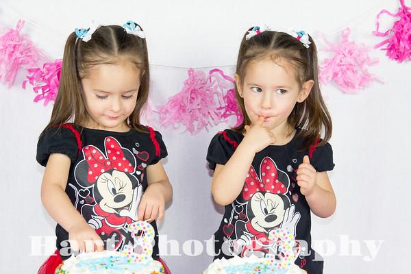 Twins 3rd Bday