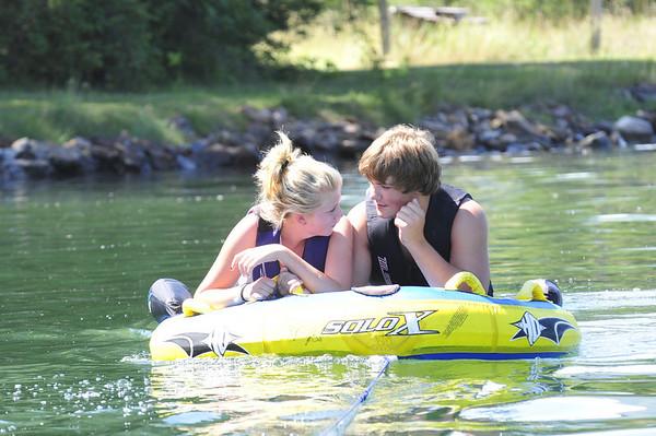 Summer at the river