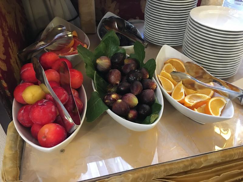 Breakfast at Bel Sito Hotel. Venice