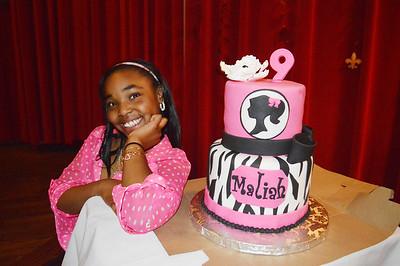 Maliah's 9th Birthday Party