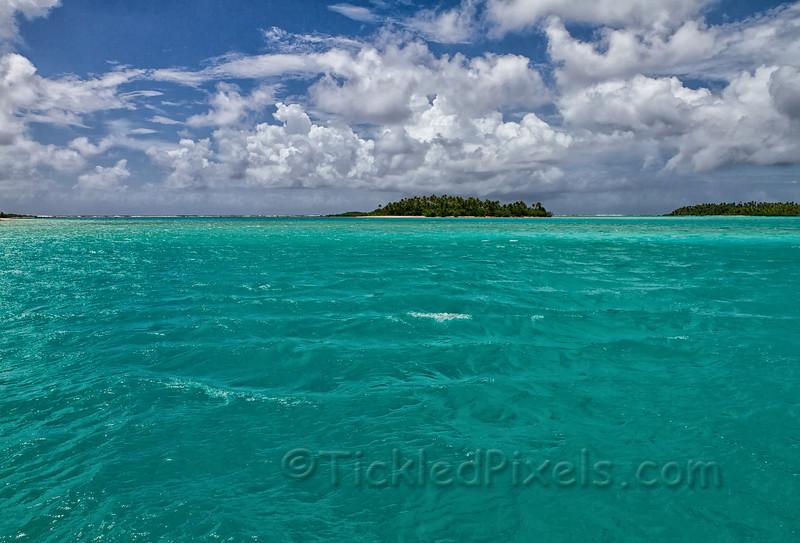 On Aitutaki Lagoon