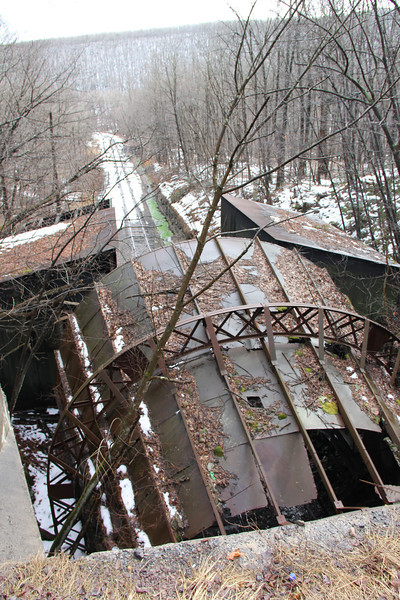 Lehigh Coal and Navigation Tunnel, Along SR54, Barnesville, Ryan Township (2-27-2013)
