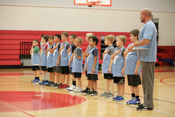 2018 YMCA 9U Eagles Basketball