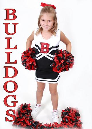 Cochran Bulldogs Cheerleader 2010