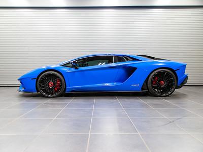 '18 Aventador S - Blu Nila