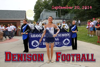 2014 Blue Ace Band at Denison Football Game (09-20-14)