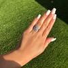 1.75ctw Edwardian Toi et Moi Old European Cut Diamond Ring  45