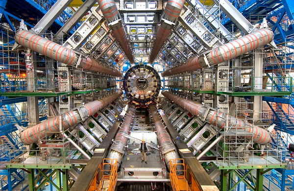CERN Interviews Steve Elkins At The Large Hadron Collider in Switzerland