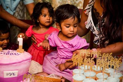 Divya + Karishma's 1st Birthday Party