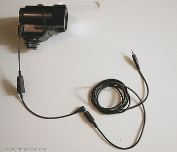 Extension Cord for Sony HVL-F32X  Flash