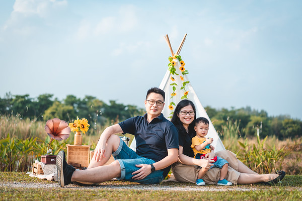 Tehxuiling & Chaisonglin Family Shoot