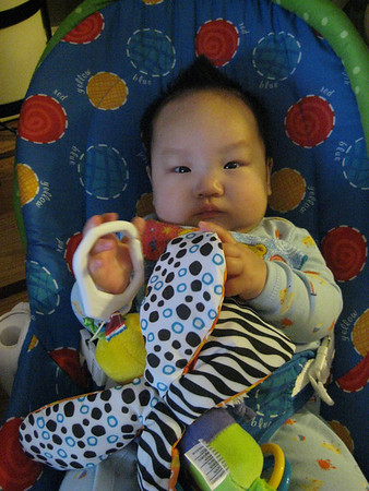 Kearsley 4 months n' Ethan