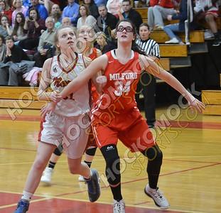 North Attleboro - Milford Girls Basketball 2-13-18