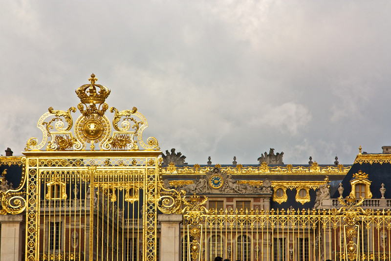 The gates of Versailles