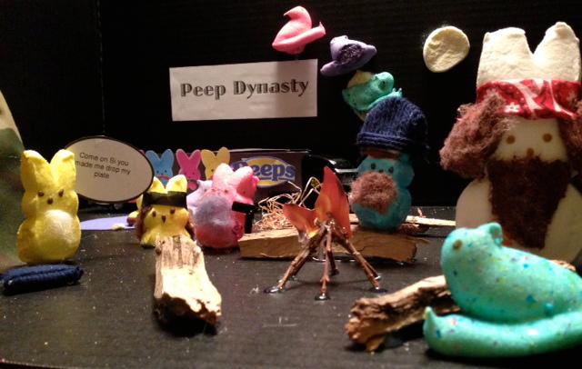 ". Title: \""Peep Dynasty\"" Name: Elyse Brynn Porter Age: 11"