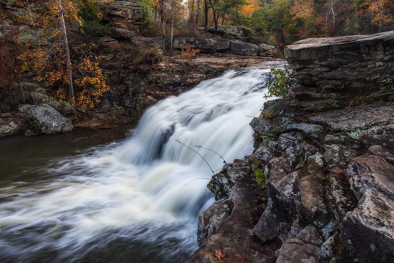 Johnnie Creek Falls in Autumn web.jpg
